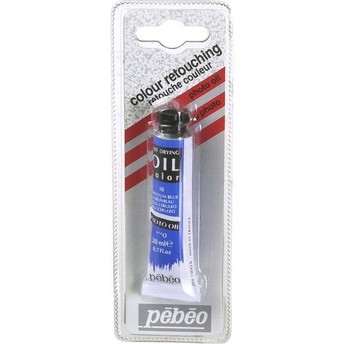 """Pebeo Oil Color Paint: No.10 Cerulean Blue - 3/4x4"""" Tube (.7 Oz.)"""