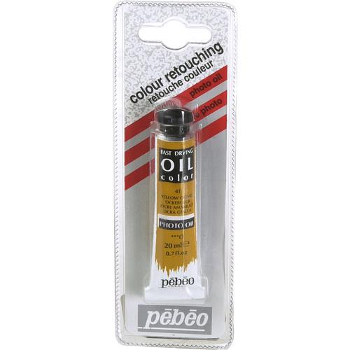 "Pebeo Oil Color Paint: No.41 Yellow Ochre - 3/4x4"" Tube (.7 Oz.)"