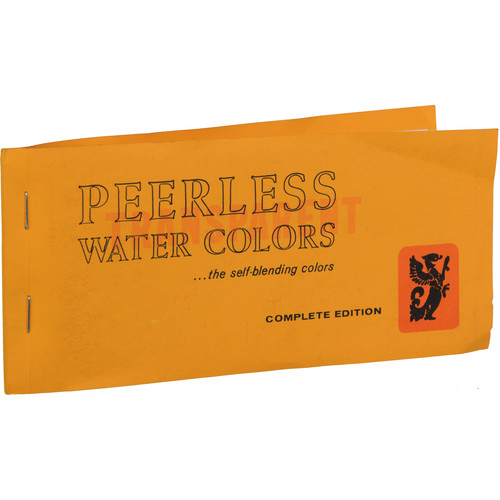 PEERLESS-COLOR Transparent Water Colors: Complete Edition