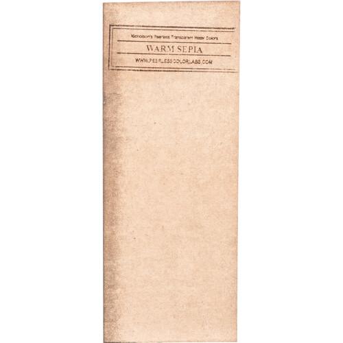 PEERLESS-COLOR Dry Spot Retouching Dye Sheet for Black & White Prints - Warm Sepia