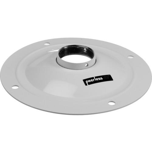 Peerless-AV Round Ceiling Plate (White)