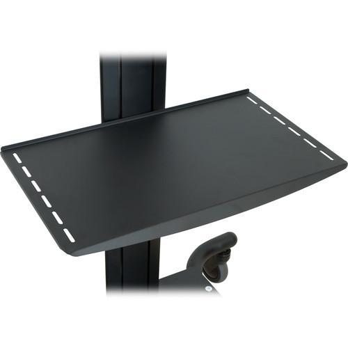 Peerless-AV Adjustable Metal Shelf, Model ACC313 (Black)