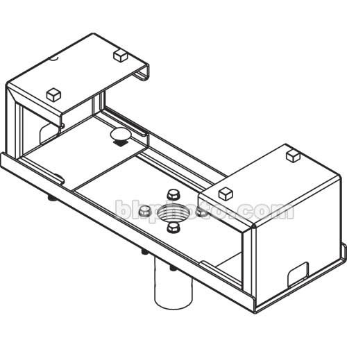 """Peerless-AV DCT700 Multi-Display I-Beam Clamp for 15-16"""" Wide"""