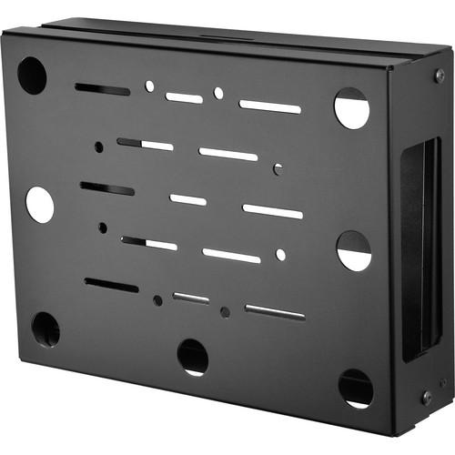 Peerless-AV Flat/Tilt Wall Mount with Media Device Storage