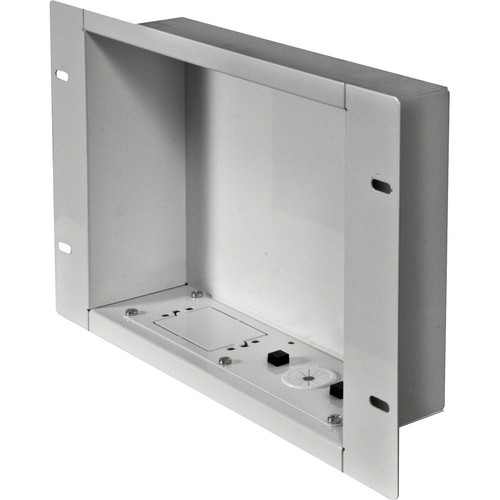 Peerless-AV IBA2-W In-Wall Cable Management and Storage Box (White)