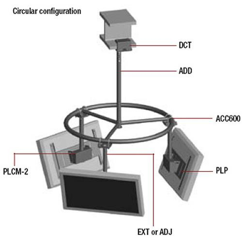 Peerless-AV Multi Display Ceiling Mount