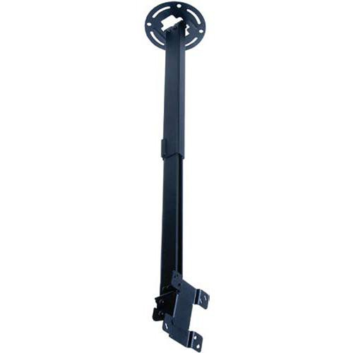 """Peerless-AV PC930C LCD Ceiling Mount for 15-24"""" Screens Weighing Up to 50 lb (Silver)"""