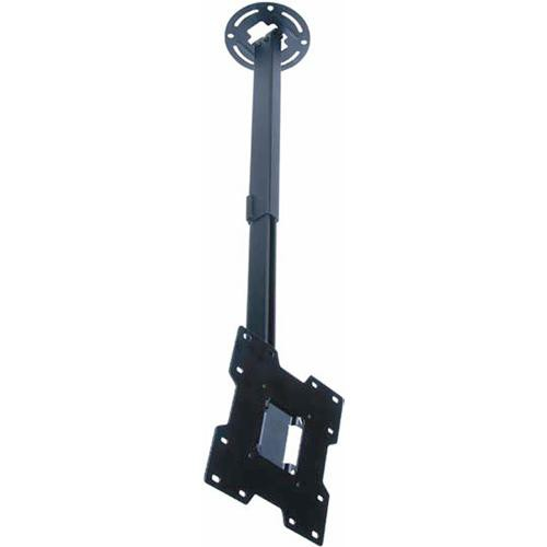 """Peerless-AV PC932B LCD Ceiling Mount for 15-37"""" Screens Weighing Up to 80 lb (Silver)"""