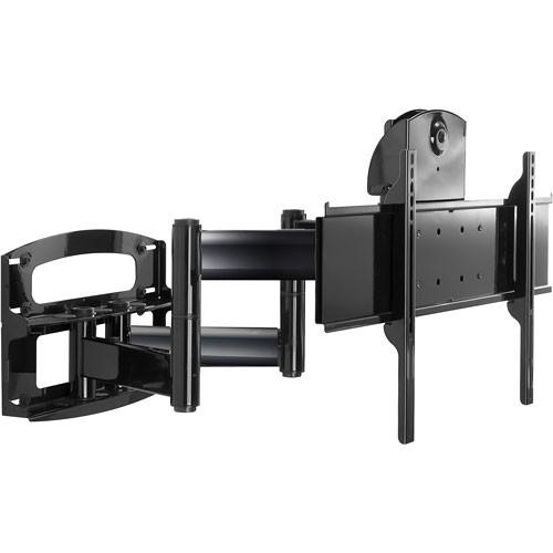 "Peerless-AV Articulating Arm with Vertical Adjustment for 42-65"" Screens (Universal Standard Model, (Gloss Black) )"