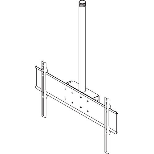 "Peerless-AV PLCM-UNL Straight Column Flat Panel Mount for 32-65"" LCD or Plasma Screens with 33"" Extension Column"
