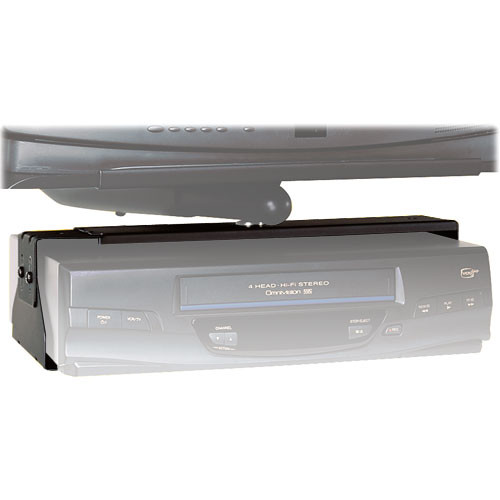 Peerless-AV Adjustable VCR/DVD/DVR Mount, Model PM47 (Black)