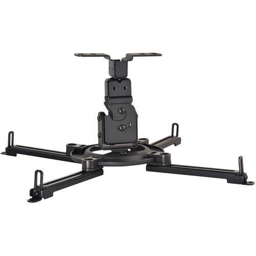 Peerless-AV PPF Flush Ceiling Projector Mount for Projectors Weighing Up to 50 lb (Black)
