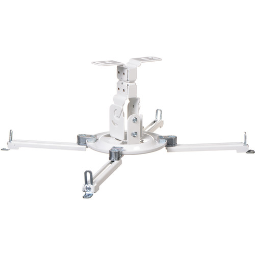 Peerless-AV PPF Flush Ceiling Projector Mount for Projectors Weighing Up to 50 lb (White)