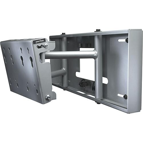 """Peerless-AV SP850S  Pull-Out Swivel Wall Mount for 32 to 80"""" LCD and Plasma Flat Panel Screens (Silver )"""