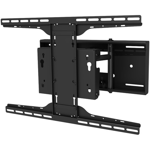 """Peerless-AV SP850-UNL Pull-Out Pivot Wall Mount for 32 to 80"""" Displays (Black)"""