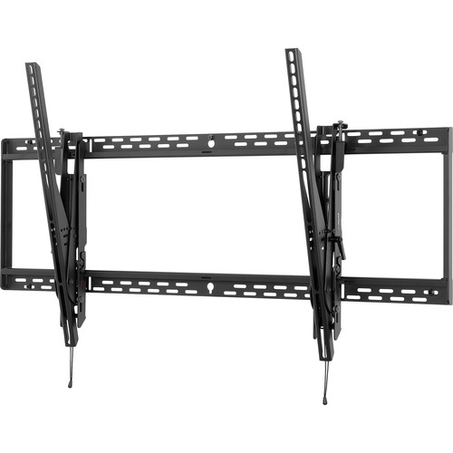 "Peerless-AV ST680P Tilt Wall Mount with Phillips Screws for 60 to 95"" TVs (Black)"