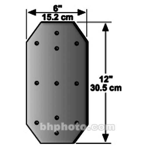 Peerless-AV Concrete Wall Back-Up Plate - Black