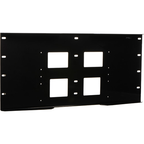 Peerless-AV Triple Stud Wall Plate, Model WSP-716GB  (Gloss Black)