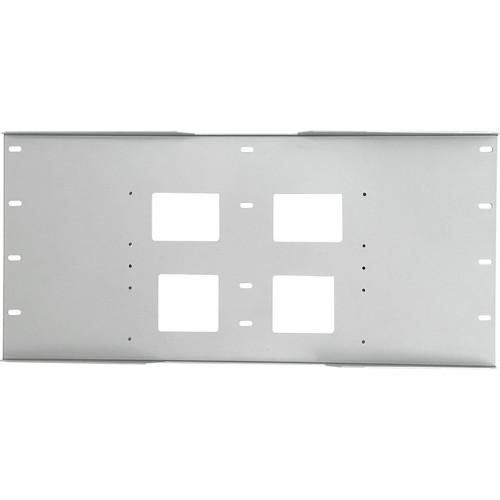 Peerless-AV Triple Stud Wall Plate, Model WSP-716GS  (Gloss Silver )