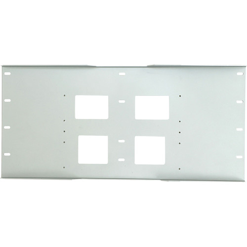 Peerless-AV Triple Stud Wall Plate, Model WSP-716W  (White )