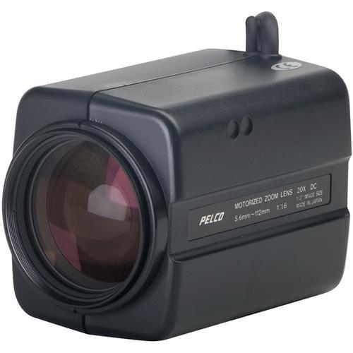 "Pelco 13ZD56X20P Motorized Zoom Lens (1/3"", Auto Iris, 5.6-112mm, CS Mount, Motorized Presets)"