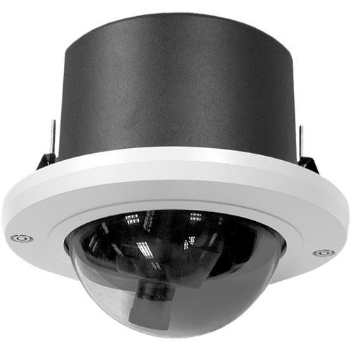 "Pelco DF5-0 5"" In-Ceiling Fixed Mount Dome (Smoked)"