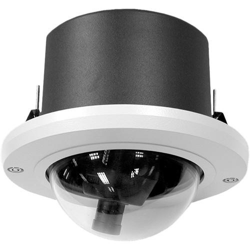 "Pelco DF5HD-1 5"" Heavy Duty In-Ceiling Fixed Mount Dome (Clear)"
