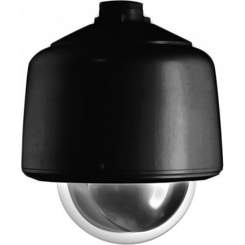 "Pelco DF5-PB-1 5"" Black Pendant Fixed Mount Dome (Clear)"