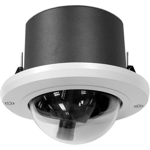 "Pelco DF5S-1 5"" In-Ceiling Fixed Mount Dome with Short Back Box (Clear)"