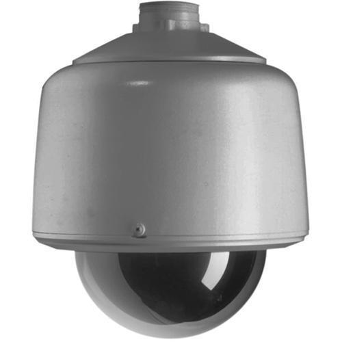 """Pelco DF5-PG-E0 5"""" Outdoor Gray Pendant Fixed Mount Dome (Smoked)"""