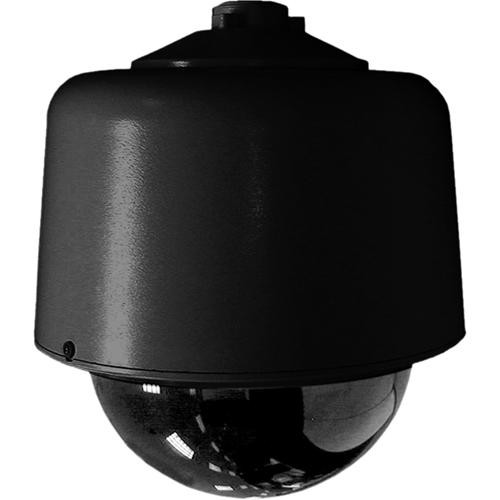 "Pelco DF8-PB-1 8"" Black Pendant Mount Dome w/Opaque Black Bubble (Clear Window)"