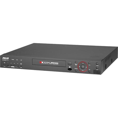 Pelco DX4104 4-CH 1TB Digital Video Recorder