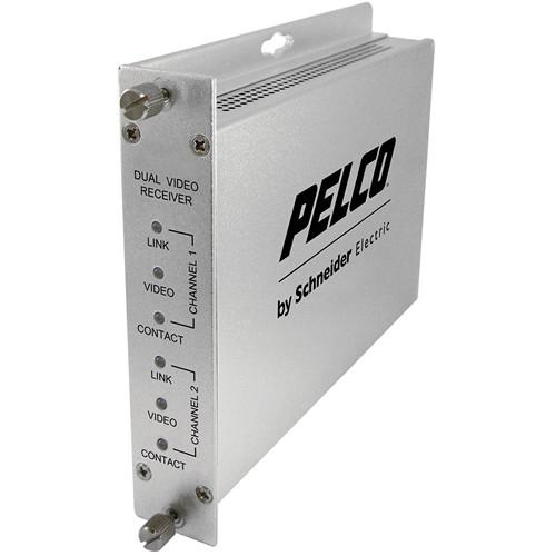 Pelco FRV20M2ST Fiber Receiver