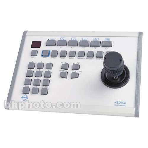 Pelco KBD300A Full-Functionality Control Keyboard