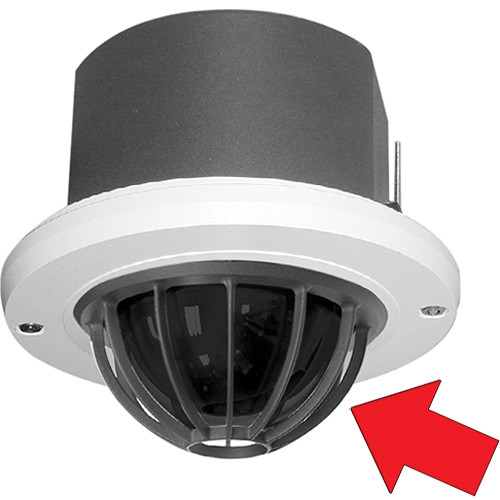 Pelco Heavy-Duty Spectra III Lower Dome with Cage