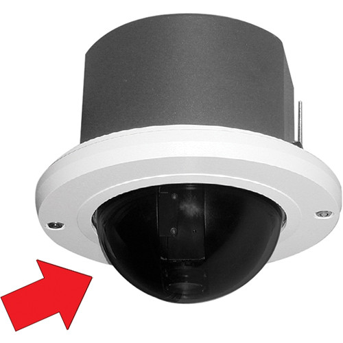 Pelco Heavy-Duty Spectra Lower Dome
