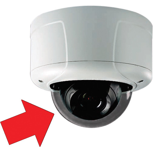 Pelco Sarix IE Lower Dome (White, Smoked, Liner)