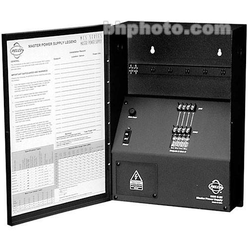 Pelco MCS16-10S 16-Output Power Supply with LED
