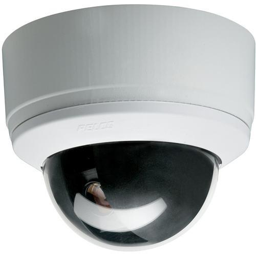 Pelco SD4-W0 Spectra Mini Dome System Camera (White, Smoked Bubble)