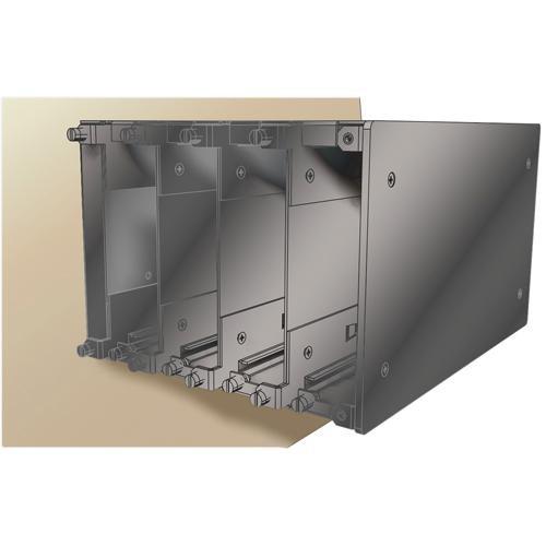 Pelco WM5001-3UEXP Wall Mount Expansion Kit for WM5001-3U Fiber Optic Module (Single Width)