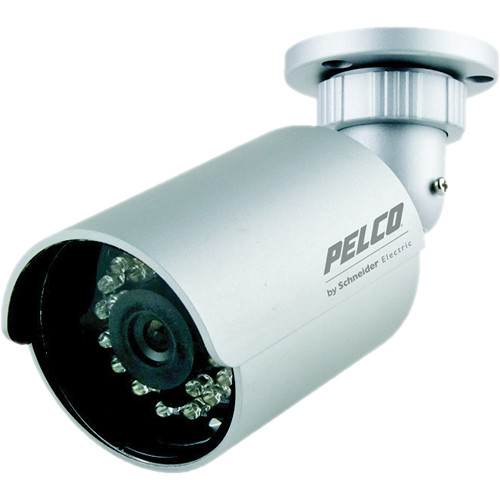 Pelco BU4 Entry-Level Integrated IR Vandal-Resistant Bullet Camera (NTSC)