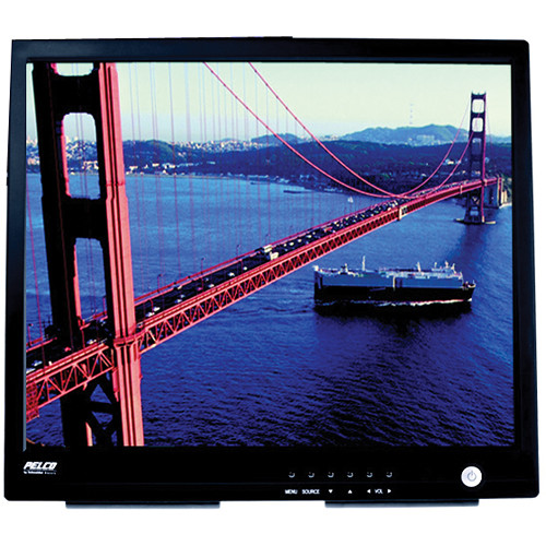 """Pelco PMCL417HB 17"""" TFT LCD Monitor"""
