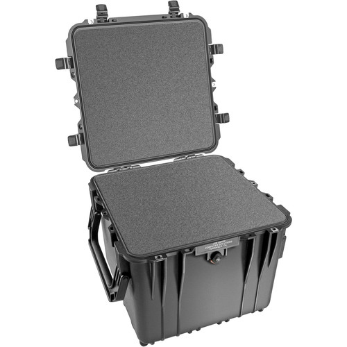 Pelican 0340 Cube Case with Foam (Black)