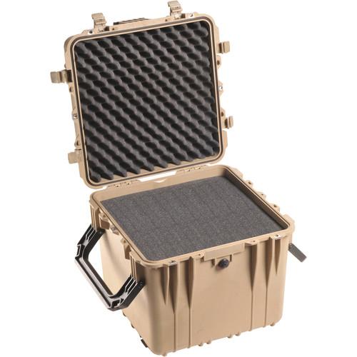 Pelican 0340 Cube Case with Foam (Desert Tan)