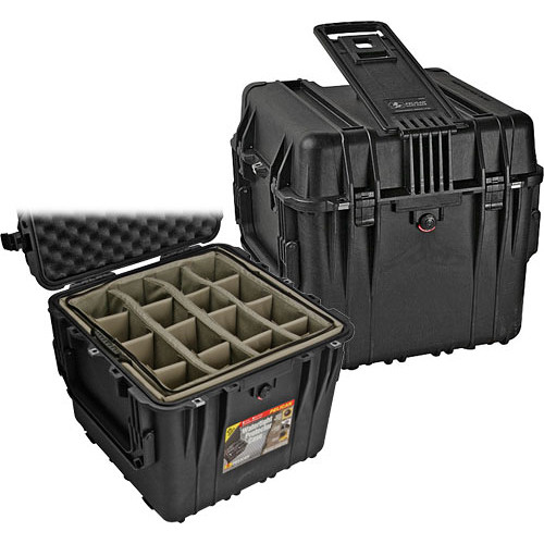 Pelican 0344 Cube Case (Black)
