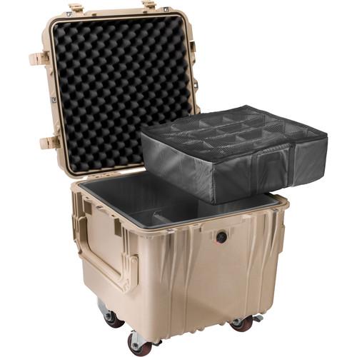 Pelican 0344 Cube Case (Tan)