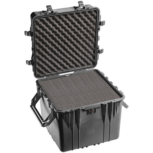 Pelican 0350 Cube Case with Foam (Black)