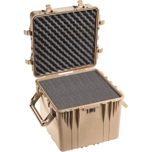 Pelican 0350 Cube Case with Foam (Desert Tan)