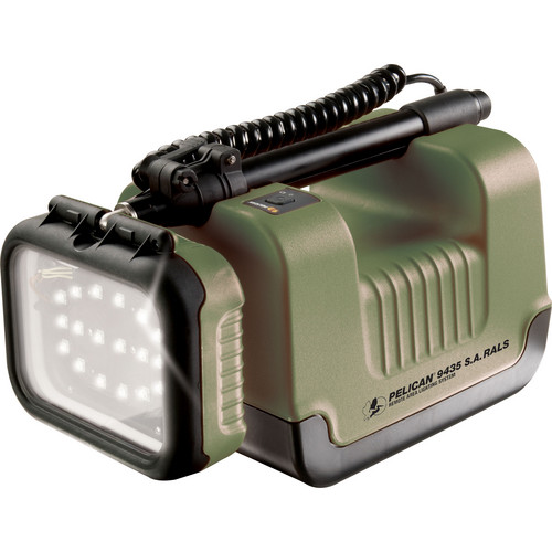 Pelican 9435 Safety Approved Remote Area Lighting System (Olive Drab Green)