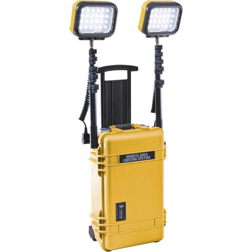 Pelican 9460 Remote Area LED Lighting System -120V (Yellow)